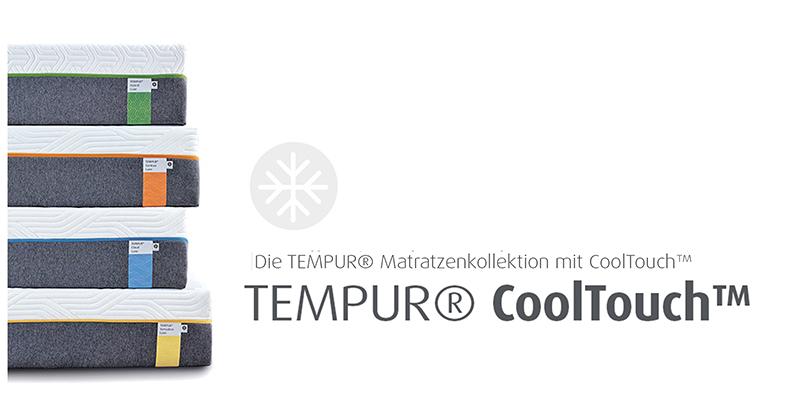 Die TEMPUR® Matratzenkollektionen mit CoolTouch™