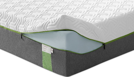 3b0730be9ab9af Unsere Luxe und Elite Matratzen verfügen sogar über einen eleganten  QuickRefresh™ Bezug mit Reißverschluss zum bequemen Abnehmen der Oberseite